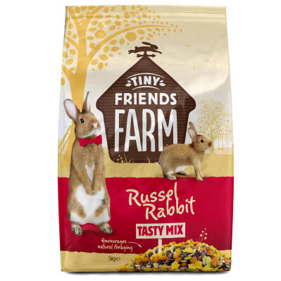 Tiny Friends Farm Russel Rabbit Tasty Mix - Konijnenvoer - 5kg