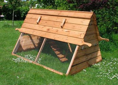 Boughton kippenhok van forsham cottage arks kippenhokken for Homemade chicken coops for sale