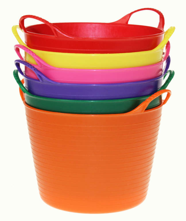 Mini Tub Trugs are available in 6 colours