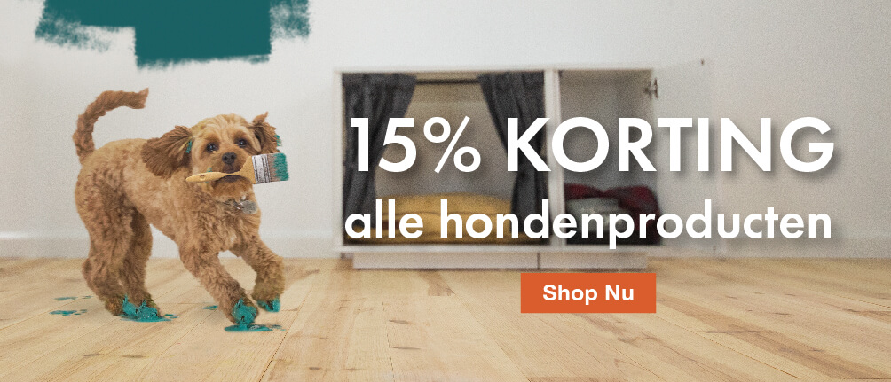 15% OFF All Dog Products